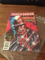 Judge Dredd Megazine  #3 Volume 2 , May 1992 , 2000AD , Fleetway , With Poster