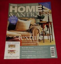 HOMES AND ANTIQUES MAGAZINE FEBRUARY 2001