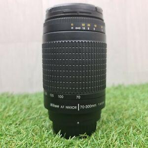 NIKON AF NIKKOR 70-300MM 1:4-5.6G Lens With Front & Rear Caps *Free Delivery*