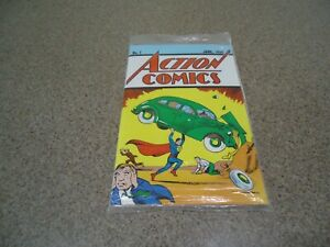 ACTION COMICS #1 LOOTCRATE REPRINT WITH C.O.A MINT