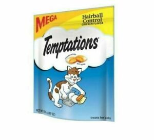 3 PACK Temptations Cat Treats Hairball Control Chicken Flavor Pet Classic