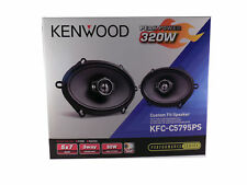 NEW KENWOOD 5X7 COAXIAL 3-WAY PERFORMANCE CAR AUDIO 320W SPEAKER SET KFC-C5795PS