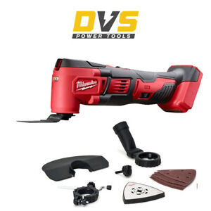 Milwaukee M18BMT-0 Cordless 18V Multi Tool With Accessories Body Only
