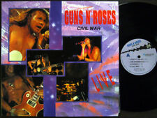 Guns N' Roses - Civil War, LIVE (Korea Only Rare Sleeve) EX, '91, Insert