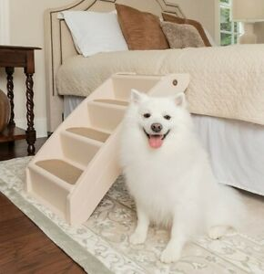 🐕Solvit 62398 PupSTEP Plus XL NonSkid Foldable Stairs w/ Siderails- up to 200lb