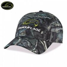Fishouflage Crappie Fish Camo Fishing Hat / Cap - OSFM - NEW!