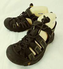 Keen Kids Shoes Athletic Walking US 3 Black Leather Waterproof Hook Loop   167
