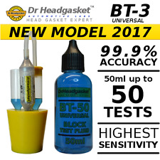 BT-3 COMBUSTION LEAK BLOCK TESTER KIT CO2 HEAD GASKET TEST FLUID 34C