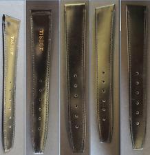 parte cinturino tissot 17 leather spare parts watch bracelet strap band original