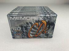More details for 7 memorex cdx 90 chrome audio cassettes new sealed