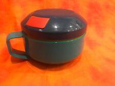 6c2c168e66c ALADDIN Covered Soup Mug w/Spoon Slot Microwavable Bowl Lunch