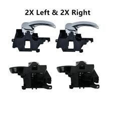Front Rear Left Right Interior Door Handle for Nissan Navara D40 Frontier 05-18