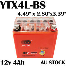 12V  Battery YTX4L-BS GEL for Yamaha CY50 Riva Jog 92-01 50 SX-F XC-F XC-W 03-07