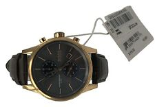 Hugo Boss Men's Chronograph 41mm Jet Brown Leather Strap 1513281 Watch