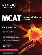 Kaplan MCAT Behavioral Sciences Review 2016: Book + Online (Kaplan Test Prep) -