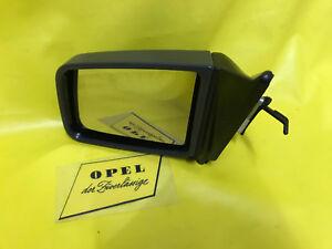 New Opel Kadett E+ Combo On Kad.e Base Exterior Mirror Left Grey Antrazhit Glass