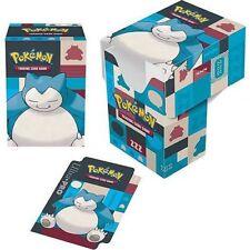 Ultra Pro Deck Box Pokémon Snorlax deckbox boîte de rangement pour cartes 855260