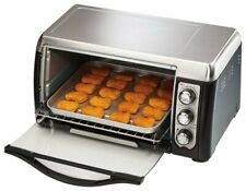 Convection Toaster/Pizza Oven - Black/Stainless-Steel