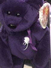 VERY RARE PRINCESS DIANA 1st Edition Beanie Baby MINT CONDITION! PVC PELLETS!!!