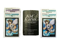 RARE Nintendo 3-PACK Kid Icarus Uprising AR Cards GS PROMOTIONAL VARIANTS 2011