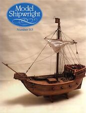 Model Shipwright No 113  (Conway 2001 1st) with Modellers Draught plan