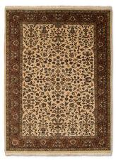Tapis beige à motif Oriental persane/orientale traditionnelle pour la maison