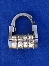 RARE ! CADENAS A CODE ANCIEN Old code padlock - XIX - N° 2