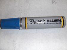 Sharpie magnum 44 permanent marker Blue..  New Old stock. Vapor