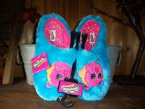 AUTHENTIC Moose Shopkins Girls Trainer Shoes Blue//Pink Sz.10US 9UK NEW