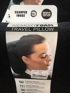 Hypoallergenic Memory Foam Travel Pillow *brand new with tags