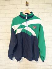 Vintage Shell Suit Jacket Top Festival Tracksuit Windbreaker 80s/90s XL #D5485