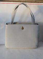 Canadian Women Vintage Grey Satchel Bag Made In Canada GUC