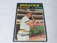 1971 TOPPS BASEBALL CARD #230 WILLIE STARGELL