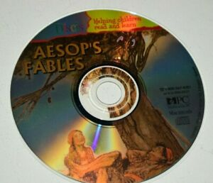 Discis: Aesop's Fables (Ages 9+ ) (CD, 1994) for Win/Mac CD-Rom Disc Only B1