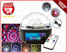 Disco Light Pattern Effect Stage DJ Lights Club Party Crystal Magic Ball VS-26