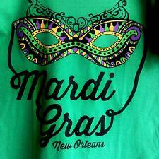 Gildan Short Sleeve T-shirt Mardi Gras Holiday Festival, Jazzy Mask BEAUTIFUL!