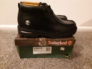 Timberland 62064 Black Moc Toe Chukka Boots