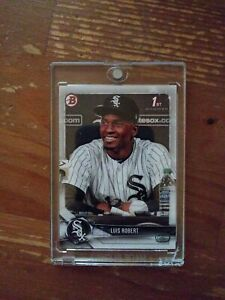 2018 Luis Robert Bowman 1st Card.Comes In One Touch. Qty Available
