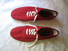 Classic Cole Haan Sporting Red Boat Shoes Sneakers Mens 11 ½ M