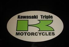 Kawasaki Triple S1 S2 H1 H2 KH400  Oval Sticker