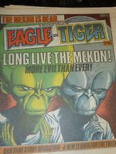 EAGLE & TIGER Comic - No 189 - Date 02/11/1985 - UK Comic