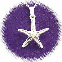 """925 Sterling Silver """" Starfish""""  Necklace"""