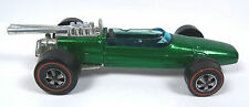 Vintage Hot Wheels Redlines - 1969 BRABHAM REPCO - Green - Hong Kong