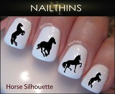 Horse Silhouette Nail Decal By NAILTHINS
