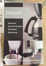 Urnex Dezcal Home Descaler, For Home Coffee & Espresso Equipt., 4 - 1 Oz