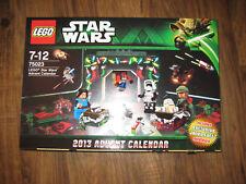 LEGO 75023 Adventskalender 2013 NEU ungeöffnet Rarität