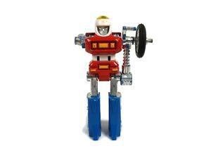 Vintage 1984 GoBots Cy-Kill Action Figure Bandai Tonka Complete Machine Robo