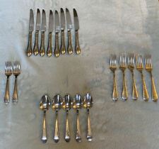 New listing 20 Piece Reed & Barton Stainless Hammered Antique