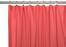 Carnation Home Fashions Hotel Collection 8-Gauge Vinyl Shower Curtain Liner w.