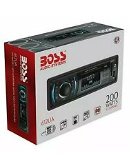 NEW BOSS Audio 612UA Single Din MP3 USB SD AM FM Car Stereo No CD DVD Player
